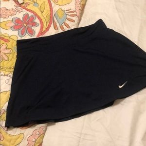 Navy Nike Tennis Skirt